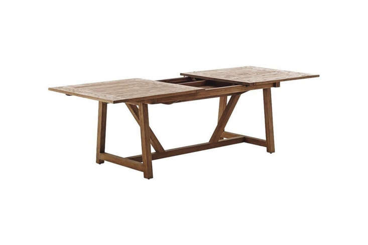 From Sika Design, the Lucas Extension Table is $3,858 at Danish Design Store.