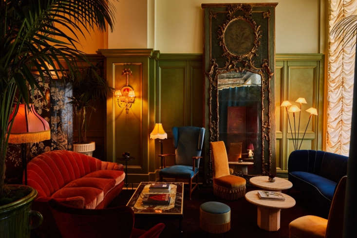 """""""Our inspiration was drawn from grand hotels of the past in both America and Europe,&#8"""