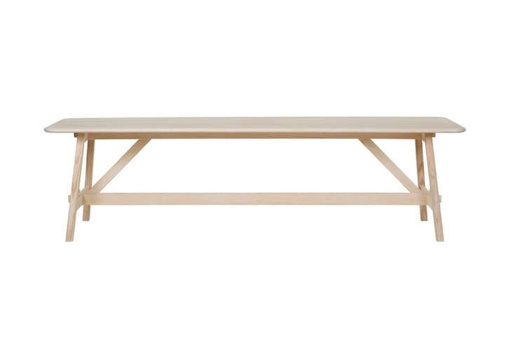 From Tre Sekel, the Landala Dining Table made in solid pine is loading=