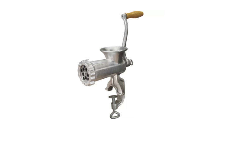 for something similar to the finnish made meat grinder in our lead photo (from  22