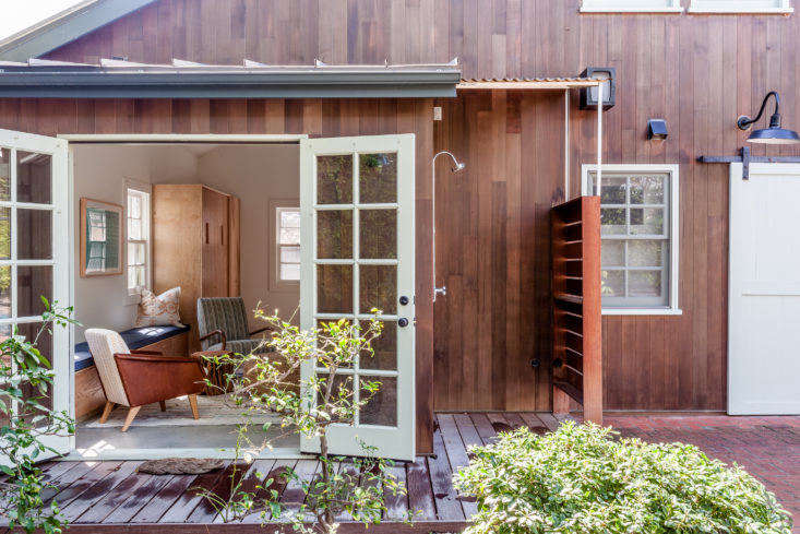 the wishlist for this 900 square foot converted garage includedan outdoor sho 10