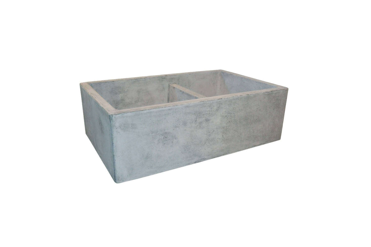 The Native Trails Farmhouse 33-Inch Double Bowl Kitchen Sink is an off-the-shelf alternative to the unique antique soapstone laundry sink sourced for the kitchen here. This one is $src=