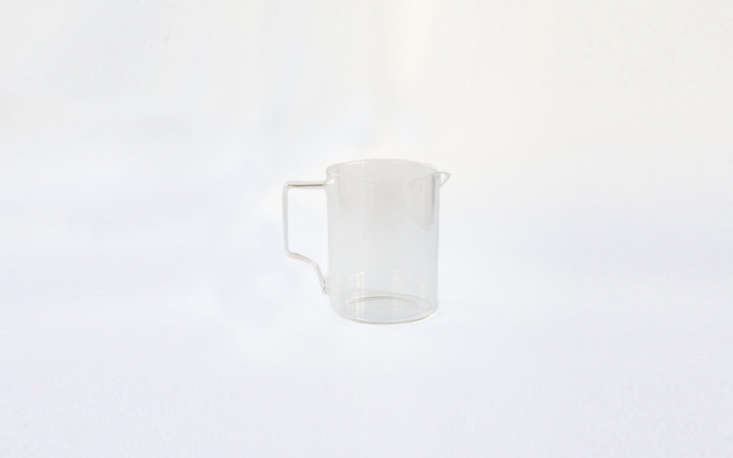 Last year I received a set of Japanese-made Kinto drinking glasses for Christmas, and every time I use them they bring me joy. TheGlass Coffee Jug by Kinto is just as beautiful and similarly low-priced: it&#8\2\17;s \$\20 from The Primary Essentials.