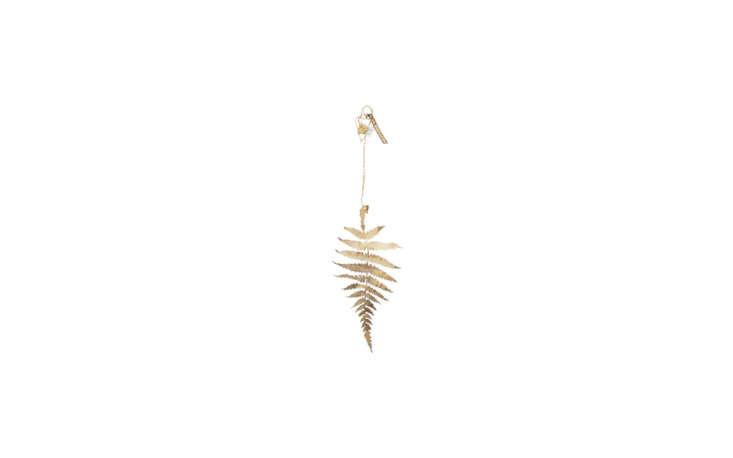 fan&#8\2\17;s pick is the golden brass fern leaf from french shop merci. &a 13