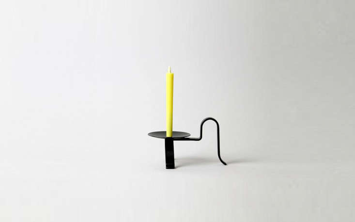 A sculptural cast-ironHakuhoudo Candle Stand, made in the Iwate prefecture, looks stately on its own or with a candle perched on it; it&#8\2\17;s \$40 from Monolier.