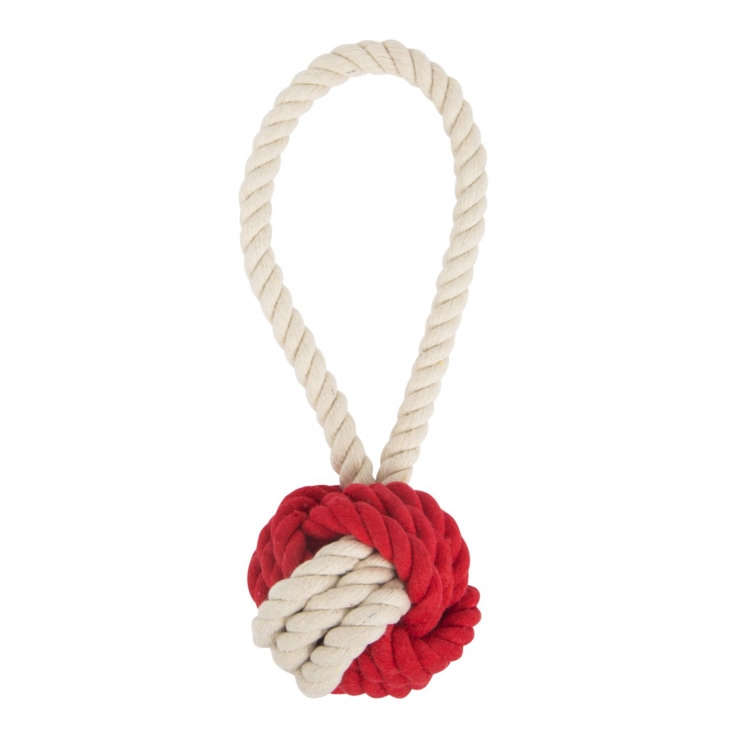 harry barker cotton rope tug toss dog toy