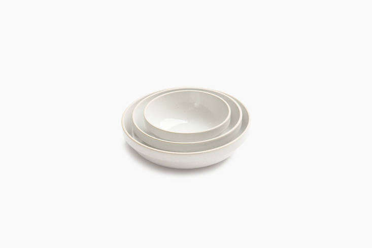 the hasami porcelain 7 \1/3 inch round bowl in grey is \$36 at need supply. 25