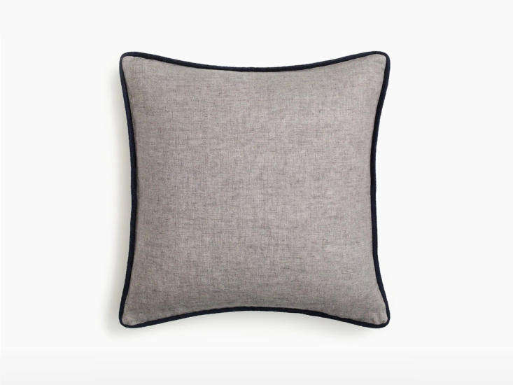 j crew home linen piped pillow