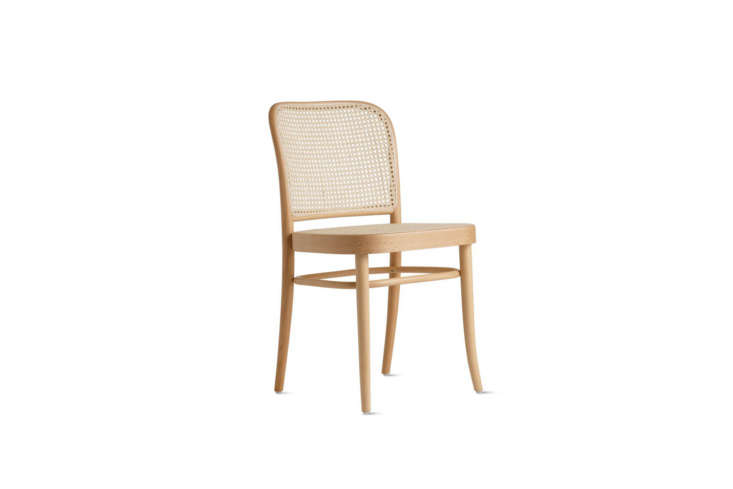 the vintage josef hoffmann cane seat chairs in the cafe were originally from th 17