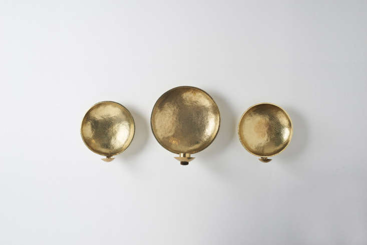 the malin appelgren brass sconces wall are hand hammered in sweden by appelgren 16