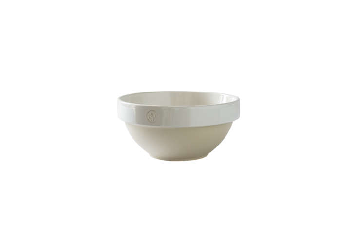 the manufacture de digoin large salad bowl is \$96 at the french farm. 26