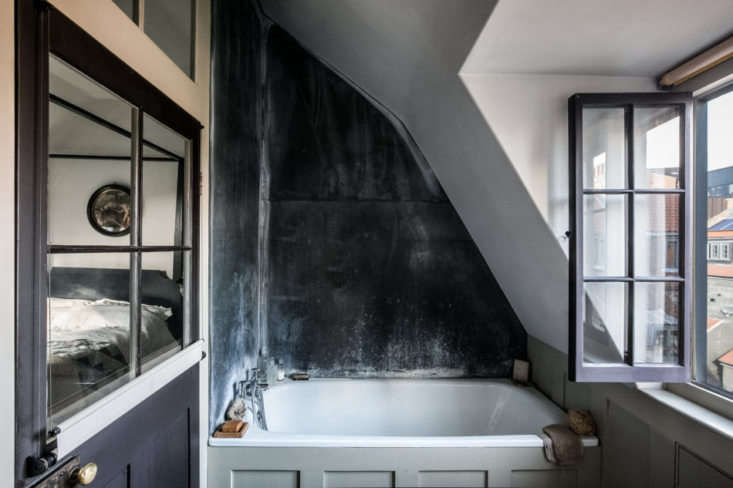 an ensuite bath, with rooftop views. 19