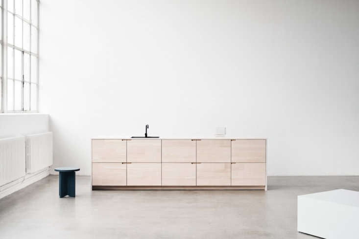 Danish company Reform offers architect-designed cabinet fronts for Ikea kitchens. They offer their own design, Basis, inspired by 60s architecture, along with designs by firms Bjark Ingels Group, Henning Larsen Architecture, and Norm Architects (shown). Their latest offering is the UP kitchen (pictured), a collaboration between the architects atLendager GroupandDinesen, The cabinet fronts and countertops, inspired by the classic craftsman kitchen, are made using cuts fromsolid, reclaimed Douglas fir left over from Dinesen projects. For more, see our postHigh-Brow Hack: Norm Architects Reinvent the Ikea KitchenandFrom Reform: A New Line of Ikea Cabinet Fronts Made with Dinesen Wood.