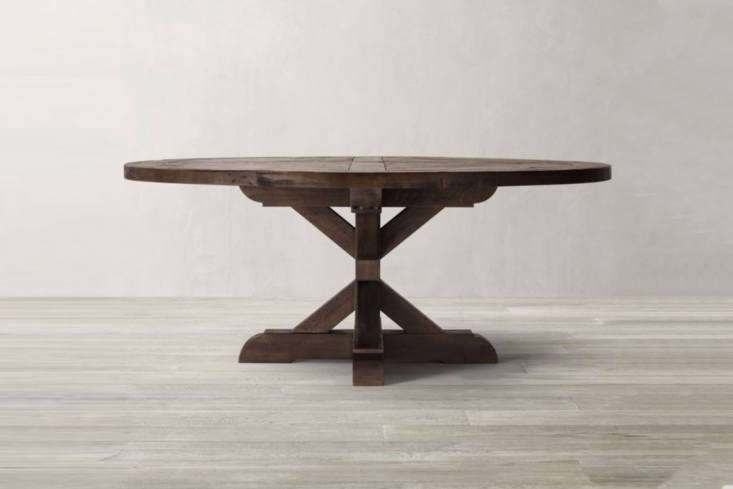 another off the shelf option is the restoration hardware salvaged wood x base r 19