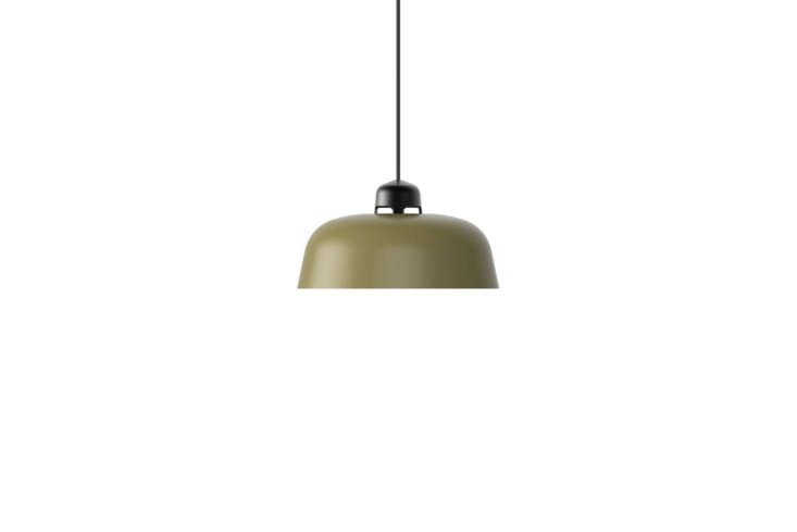 the green pendant lights are the w\16\2 dalston pendants by sam hect & kim  15