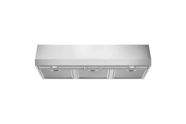 The Smeg Pro-Style Under-Cabinet Hood Stainless Steel (KUC36X) is $799 at Amazon.