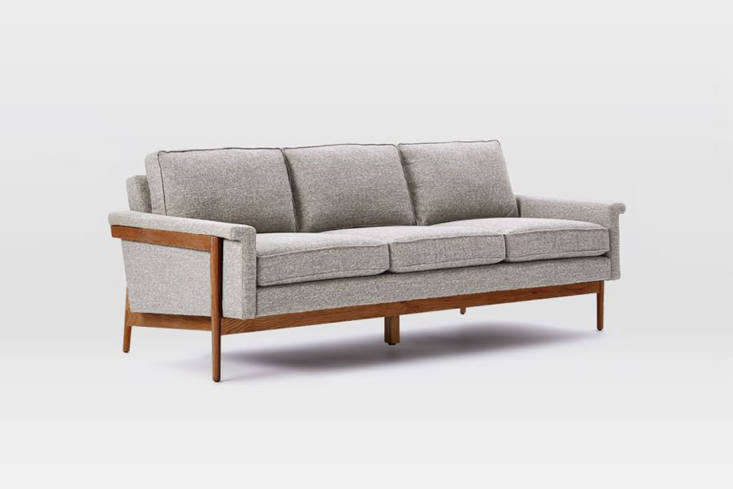 The West Elm Leon Wood Frame Sofa ranges from $loading=