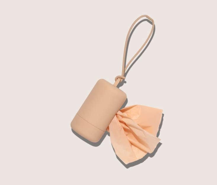 wild one poop bag carrier peach 17