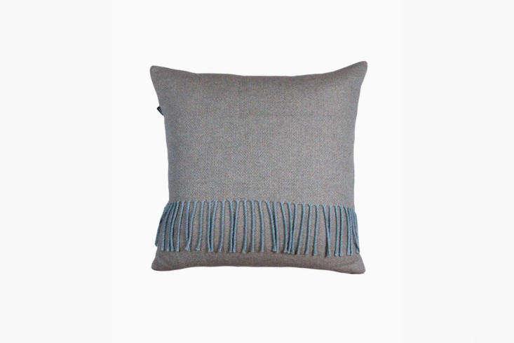 the fringe trimmed herron cushion is£75. 14