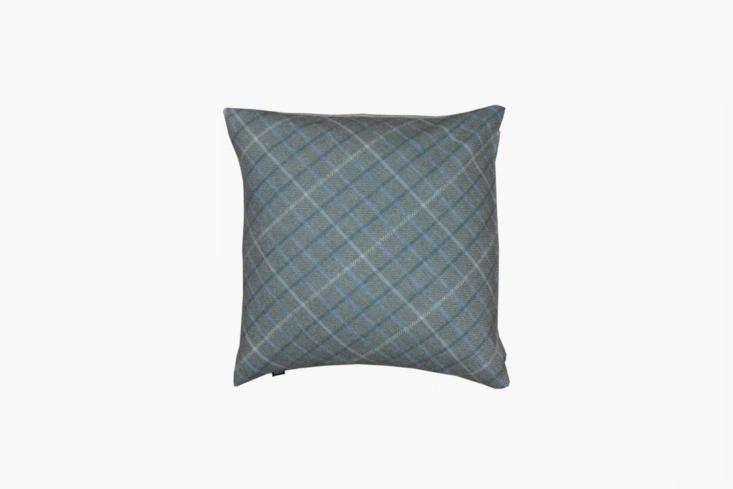 the caithness cushion offers a subtle take on tartan; £75. 15