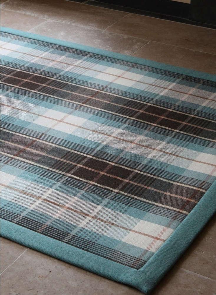 one of several tartan options is the yvonne mackay rug; £\1,\150. 10