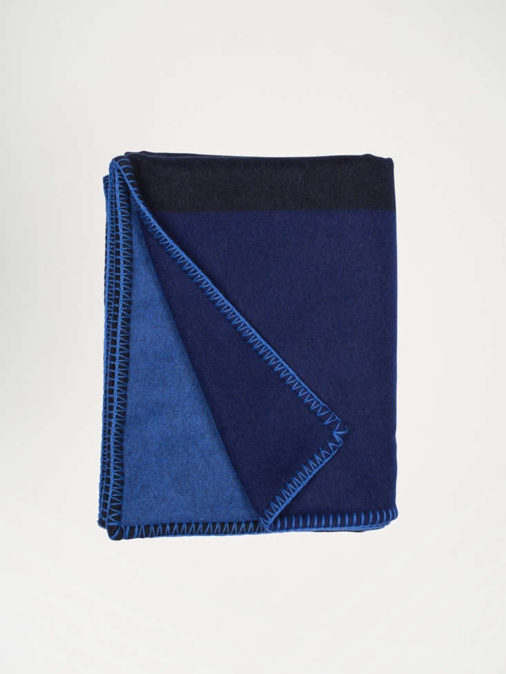 begg co abstract lambswool angora throw klein blue