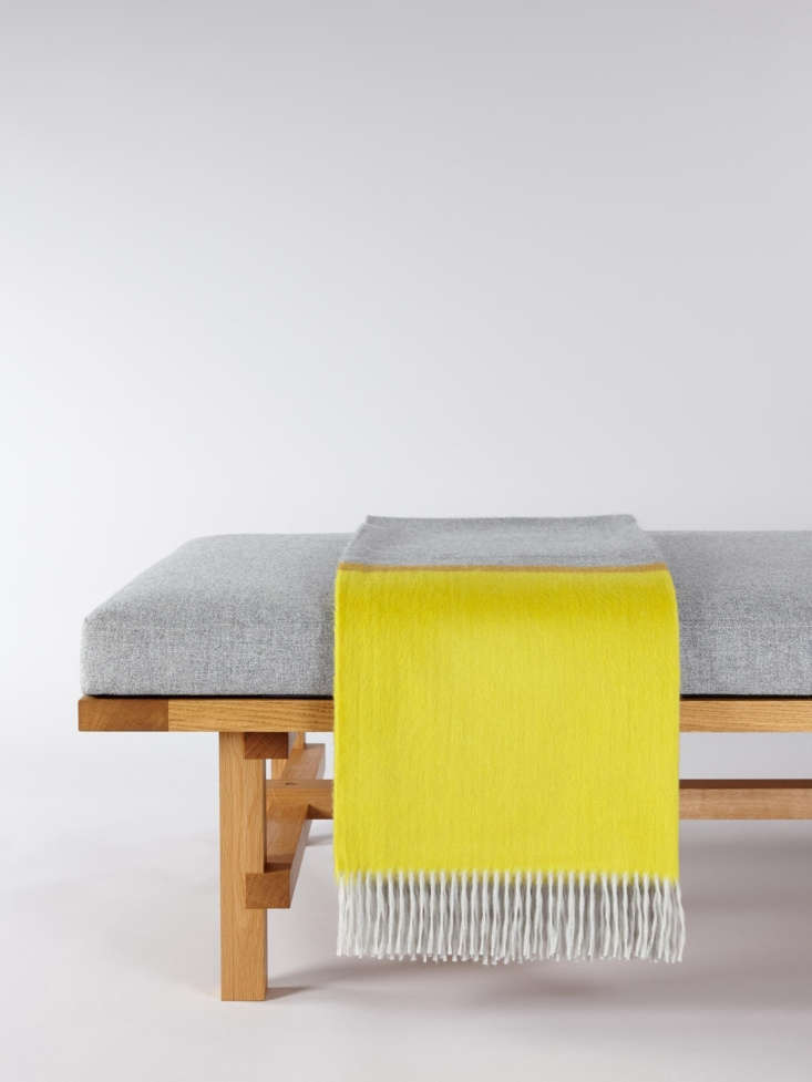 The Arran Borderland Cashmere Throw is made of 0 percent cashmere; £930.