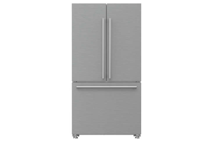 The Blomberg 36-Inch Counter-Depth French Door Refrigerator (BRFD