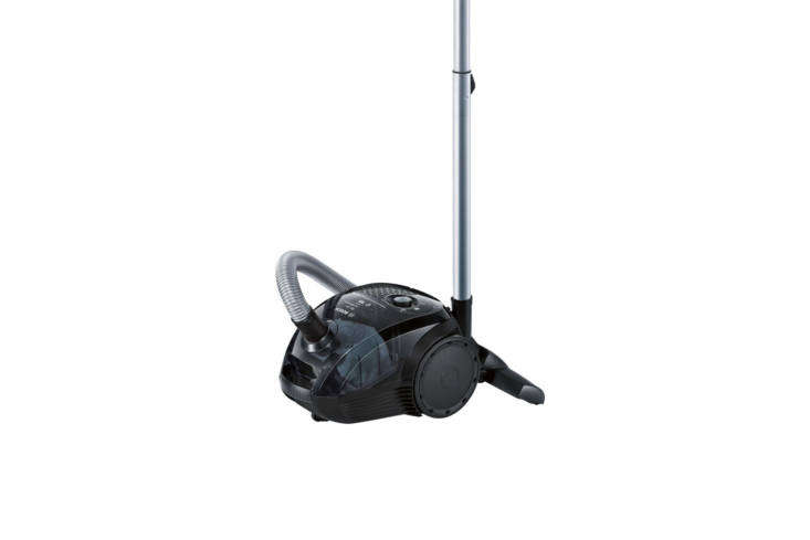 the bosch vacuum cleaner (bgn\2\1800) in magic black translucent operates on an 17