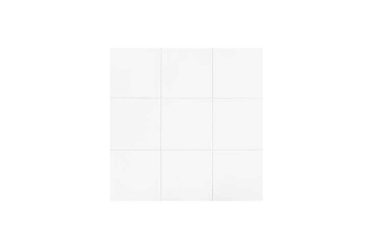 the daltile glacier white \1\2&#\2\15;\1\2 inch ceramic floor and wall tile 13
