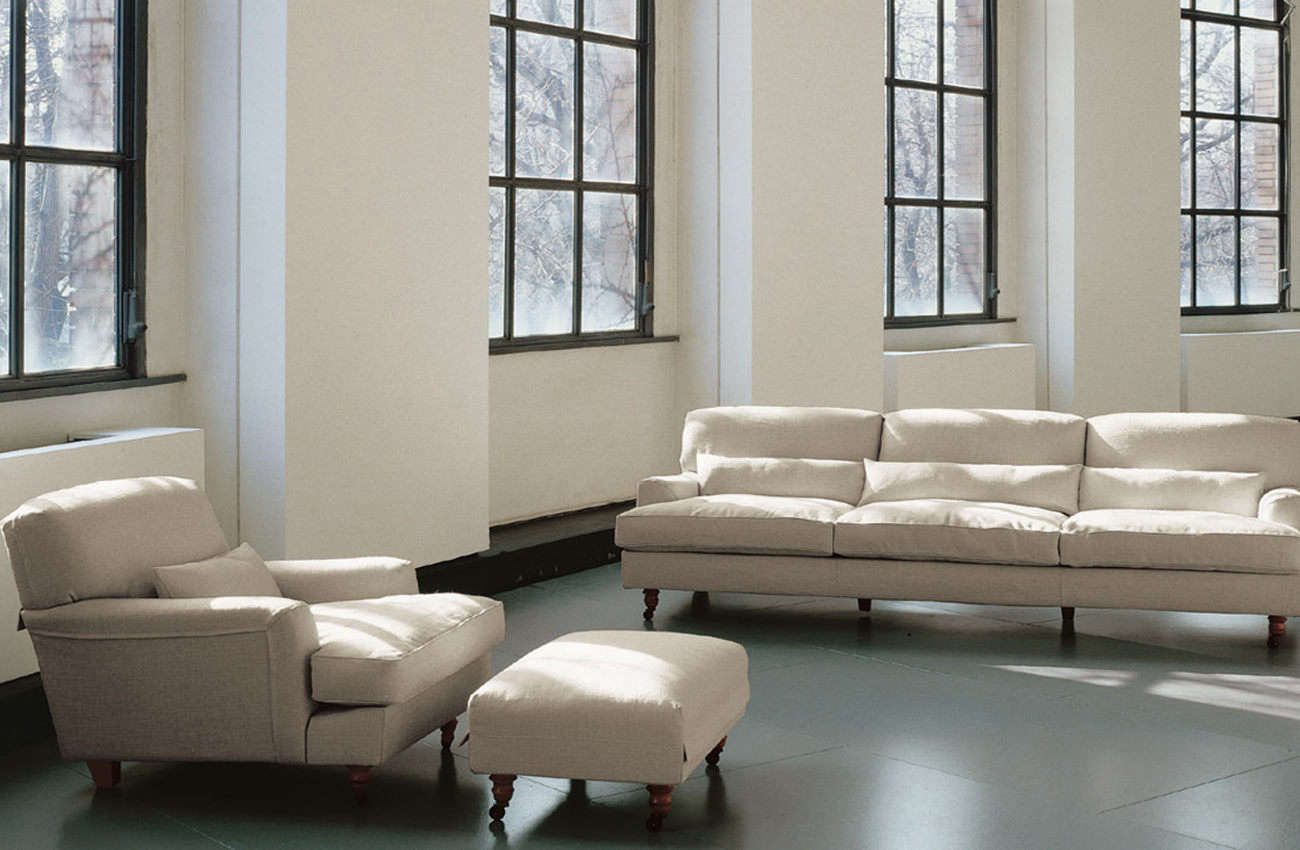 Of course the De Padova Raffles Sofa wins a spot on our list. Designed by Vico Magistretti in 88, the sofa is a classic English styleand can be purchased through Suite NY (contact for pricing) in the US or at Twentytwentyonein the UK for £5,566.
