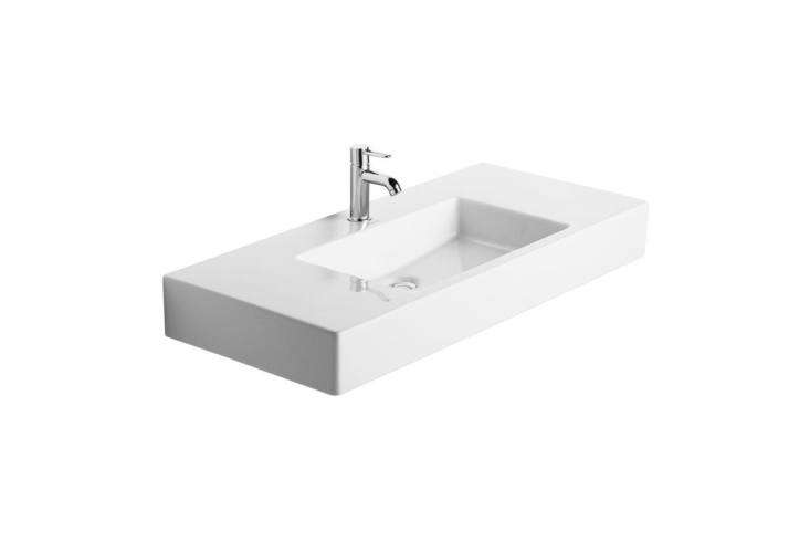The basin is the Duravit Vero (03850000loading=