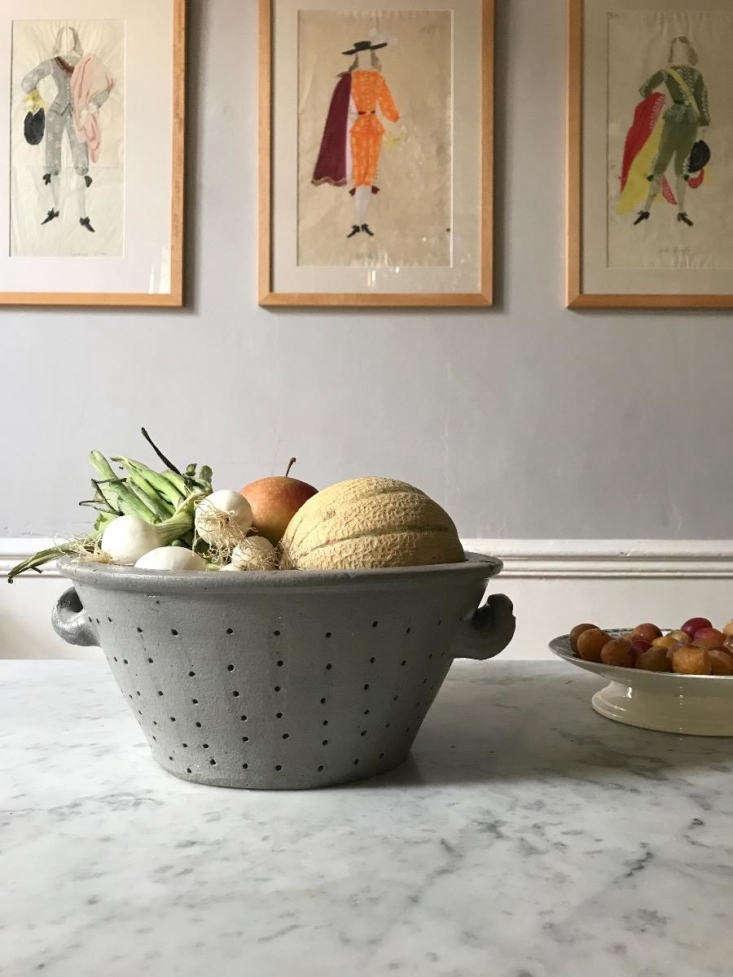 A Pierced Earthenware Dish, &#8