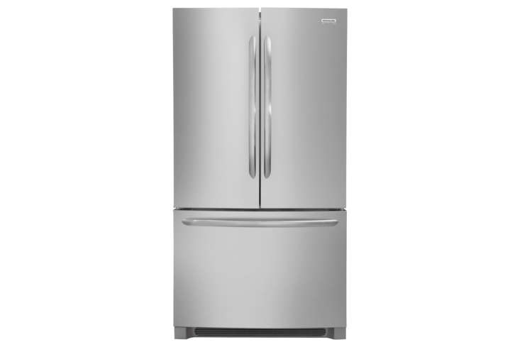The Frigidaire Gallery 36-Inch Counter-Depth French Door Refrigerator (FGHG68TF) is  loading=