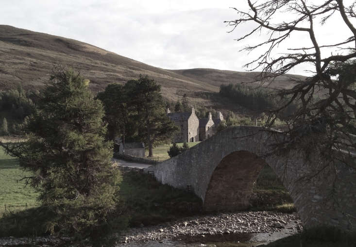 The Gairnshiel Bridge was built over the River Gairn in the th century. There are ,000 private acres surrounding the lodge and beyond that is parkland.