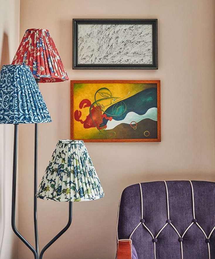 Patterned lamp shades, another design trend we&#8