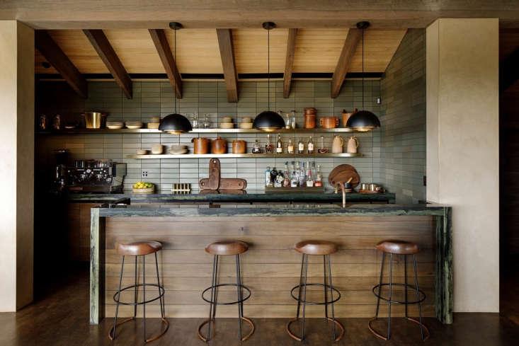 Herringbone Design used Heath Ceramics&#8