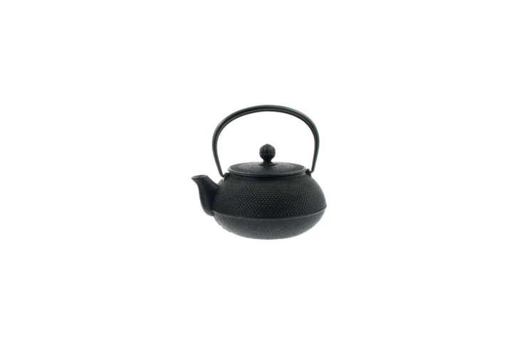 The Iwachu -Ounce Japanese Iron Hobnail Tetsubin Teapot is $6.43 on Amazon.