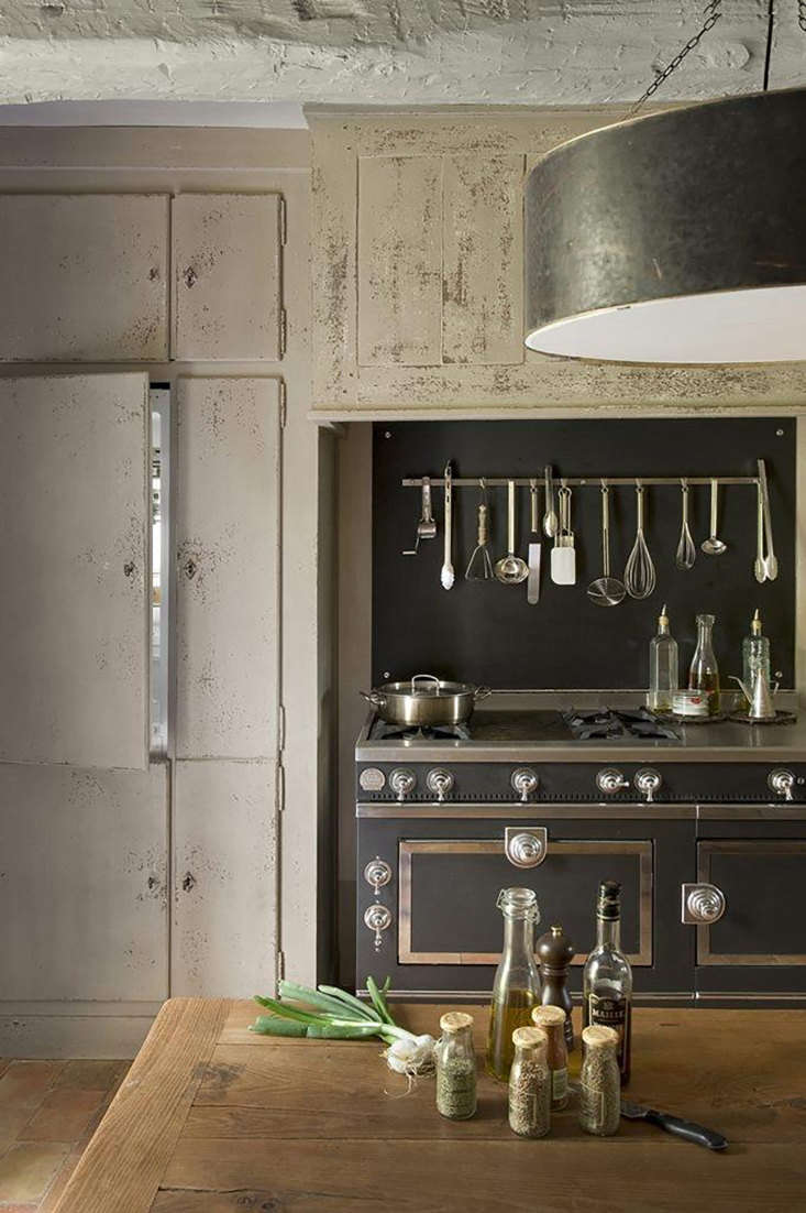 A kitchen kitted out with a La Cornue range.