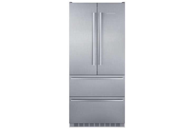 The Liebherr 36-Inch Counter-Depth 4-Door French Door Refrigerator (CBS8