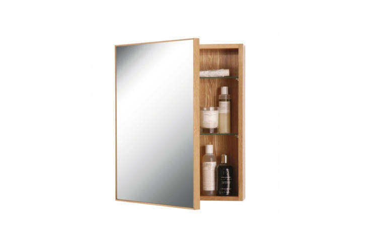 The medicine cabinet in the bathroom is the Slimline 550 Cabinet designed by Lincoln Rivers for Wireworks; £6 at TwentyTwentyOne in the UK. You can also find it in the US for $3.99 at Wayfair.
