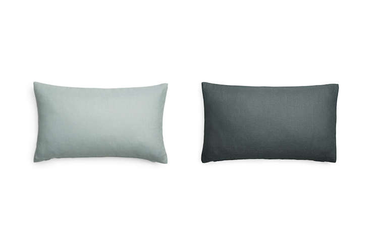 arket carries a series of pillow covers in a variety of colors, like these line 16