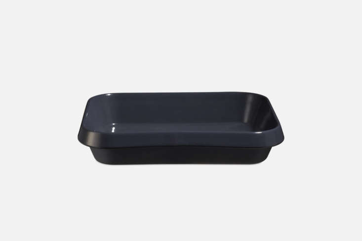 The Manufacture de Digoin Stoneware Oven Dish in varnished stoneware is € at Merci. For more on the French line see our postManufacture de Digoin: A Classic Loire Valley Pottery Revived.