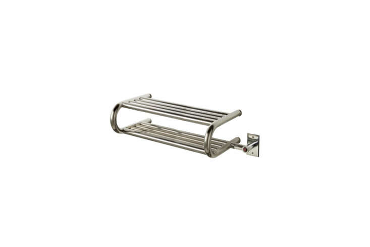 For folded towels, the Myson Classic Comfort Electric Towel Warmer is $loading=