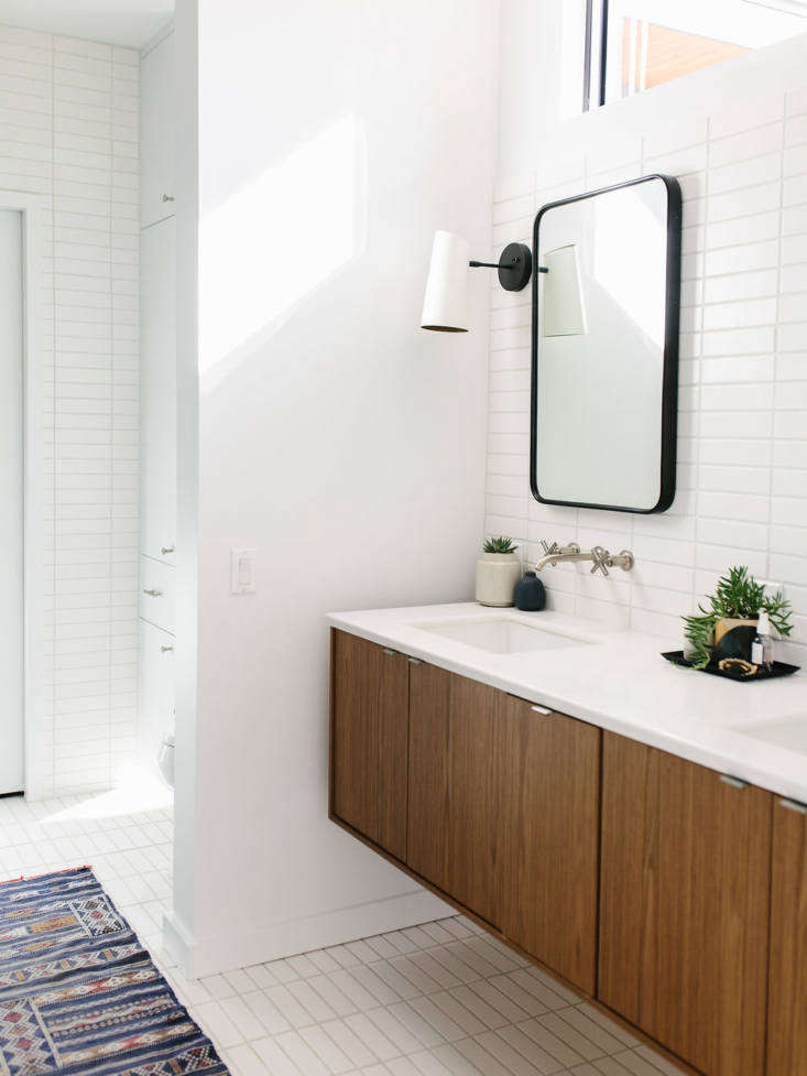 Refresh your bathroom in the new year with a prize package from Fireclay Tile, Rejuvenation, and Malin + Goetz. Shown here are Fireclay&#8