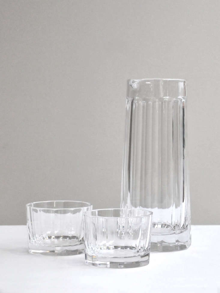 the glassware is made in a factory in transdanubia, a region in hungary, and ha 10