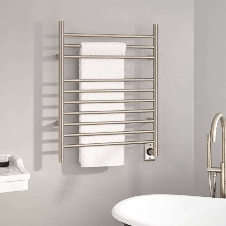 The -Inch Contemporary Hardwired Towel Warmer is currently on sale for $9