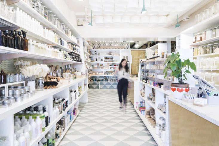 soap dispensary vancouver store interior