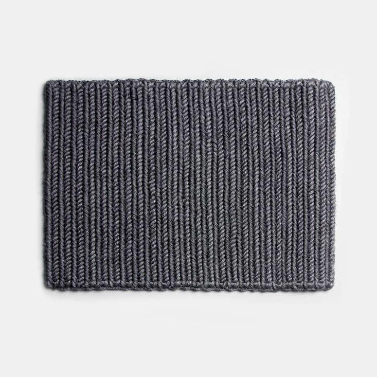 someware doormat braided dark grey