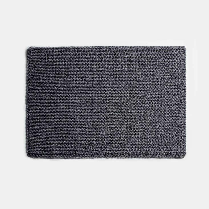 someware doormat seashore dark grey